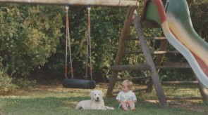 Am Spielplatz mit Lara